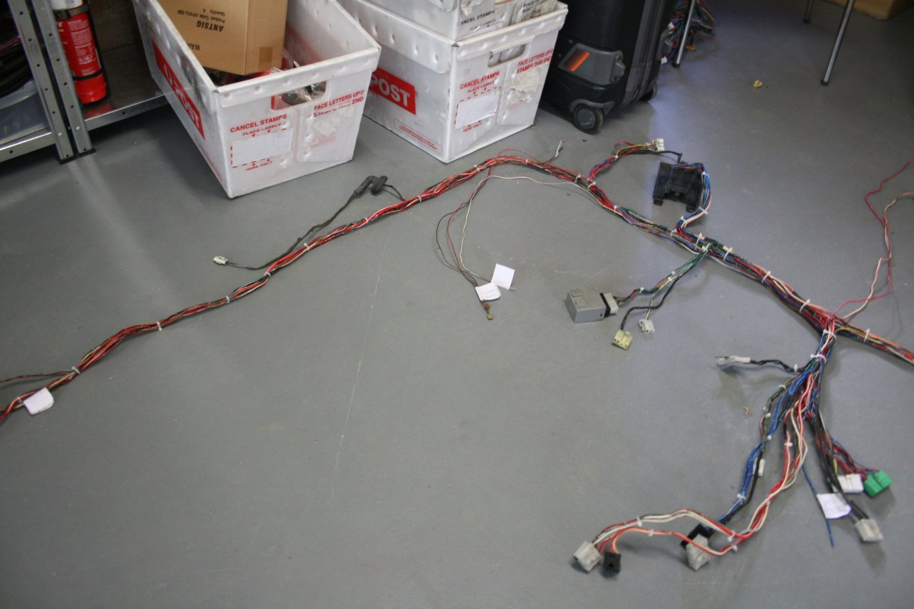 Wiring Omgpham Harness Brisbane Main Body Completed Now To Start On The Power And Engine